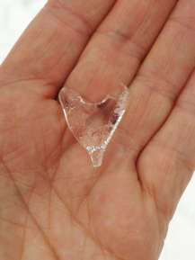 heart shaped ice